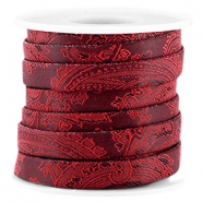 Trendy Baroque flat cord 10mm Port red