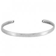 DQ metal bracelet Antique silver (nickel free)