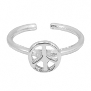 Must-have peace ring Silver