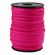 Round trendy 4 mm paracord Fuchsia