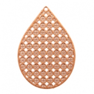 Drop shaped Bohemian pendants Sierra Brown