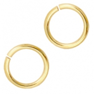 10mm DQ jumpring DQ Gold durable plated