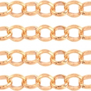 Designer Quality round belcher chain 2mm DQ Rose Gold durable plating