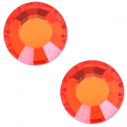 Swarovski Elements SS30 flat back stone (6.4mm) Hyacinth orange
