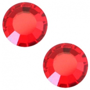 Swarovski Elements SS30 flat back stone (6.4mm) Light siam red
