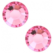 Swarovski Elements SS30 flat back stone (6.4mm) Rose