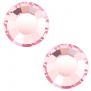Swarovski Elements SS30 flat back stone (6.4mm) Light rose