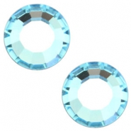 Swarovski Elements different shapes SS16 flat back stone (3.9mm) Aqua marine blue