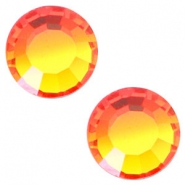 Swarovski Elements SS20 flat back stone (4.7mm) Fire opal orange