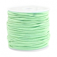 Coloured elastic cord 1.5mm Crysolite green