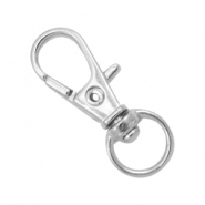 Keychains 32mm Antique silver