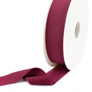 Elastic Ibiza Ribbon 25mm Velvet Purple