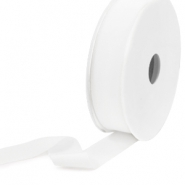 Elastic Ibiza Ribbon 25mm White