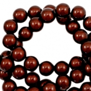 Miracle 3D beads 8mm Dark Brown