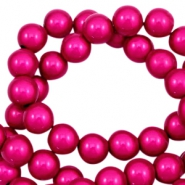 Miracle 3D beads 10mm Fuchsia Pink