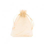 Jewellery Organza Bag 7x9cm Mimosa Peach