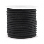 Trendy flat cord silk style 2mm Black