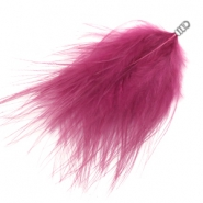 Feathers plush Fuchsia Pink