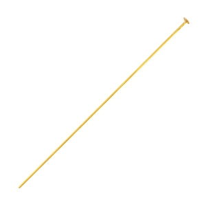 Stainless steel findings headpins 40mm Gold