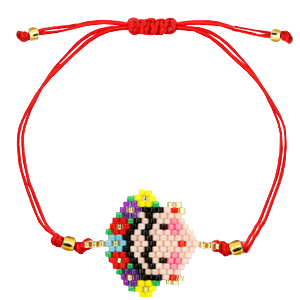 Ready-made Bracelets Frida Kahlo Red