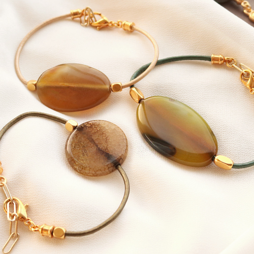 Make stylish jewellery with the semi-precious stones