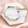 Get inspired: create jewellery items with letter beads for mother & daughter