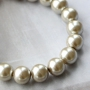 For sophisticated jewellery with a fashionable look you use our top quality glass pearls