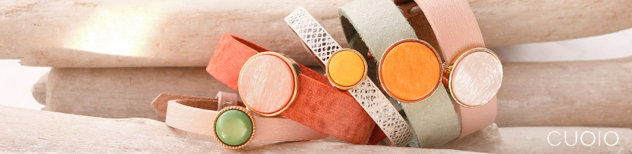 Leather Cuoio kids bracelet