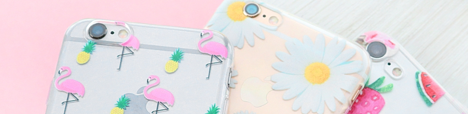 Fashionable phone covers