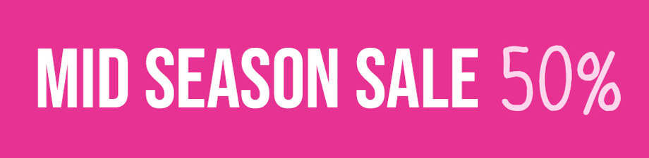 MID SEASON SALE 50%