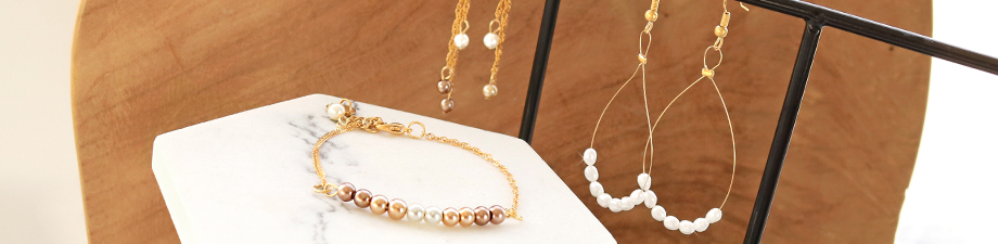 Shop now: new freshwater and glass pearls