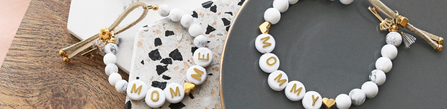 Get them now: new acrylic letter beads