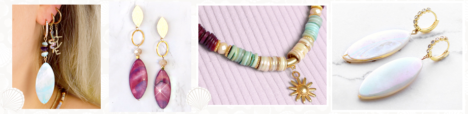 Shop now: Gorgeous, new shell beads