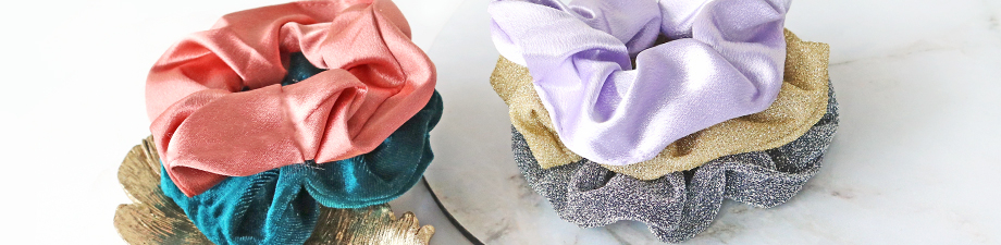 MUST-HAVE! New scrunchies and acrylic beads in trend colours!