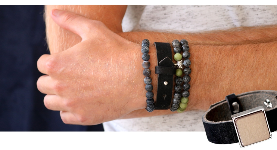 Cuoio armbanden leer for men